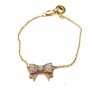 Juicy Couture Crystal Bow Bracelet